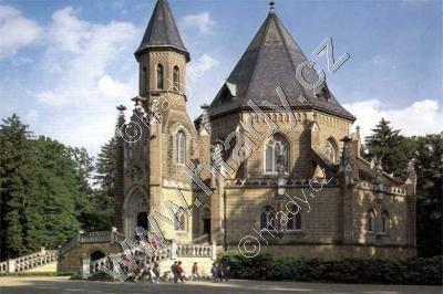 Schwarzenberská hrobka v Domaníně