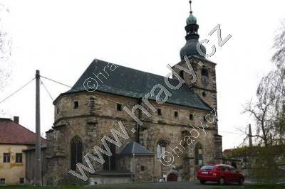 kostel sv. Floriána v Krásném Březně