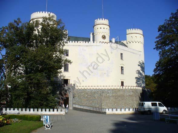 Orlík nad Vltavou (zámek)