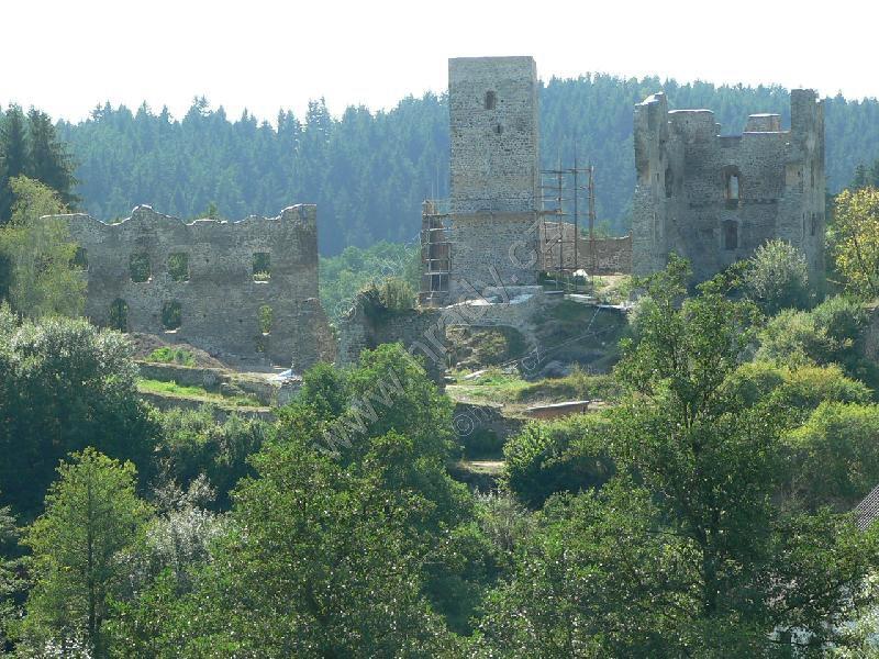 Rokštejn (zřícenina gotickeho hradu)
