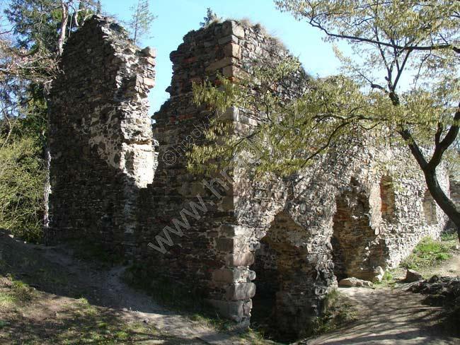 Zbořený Kostelec (zřícenina hradu)